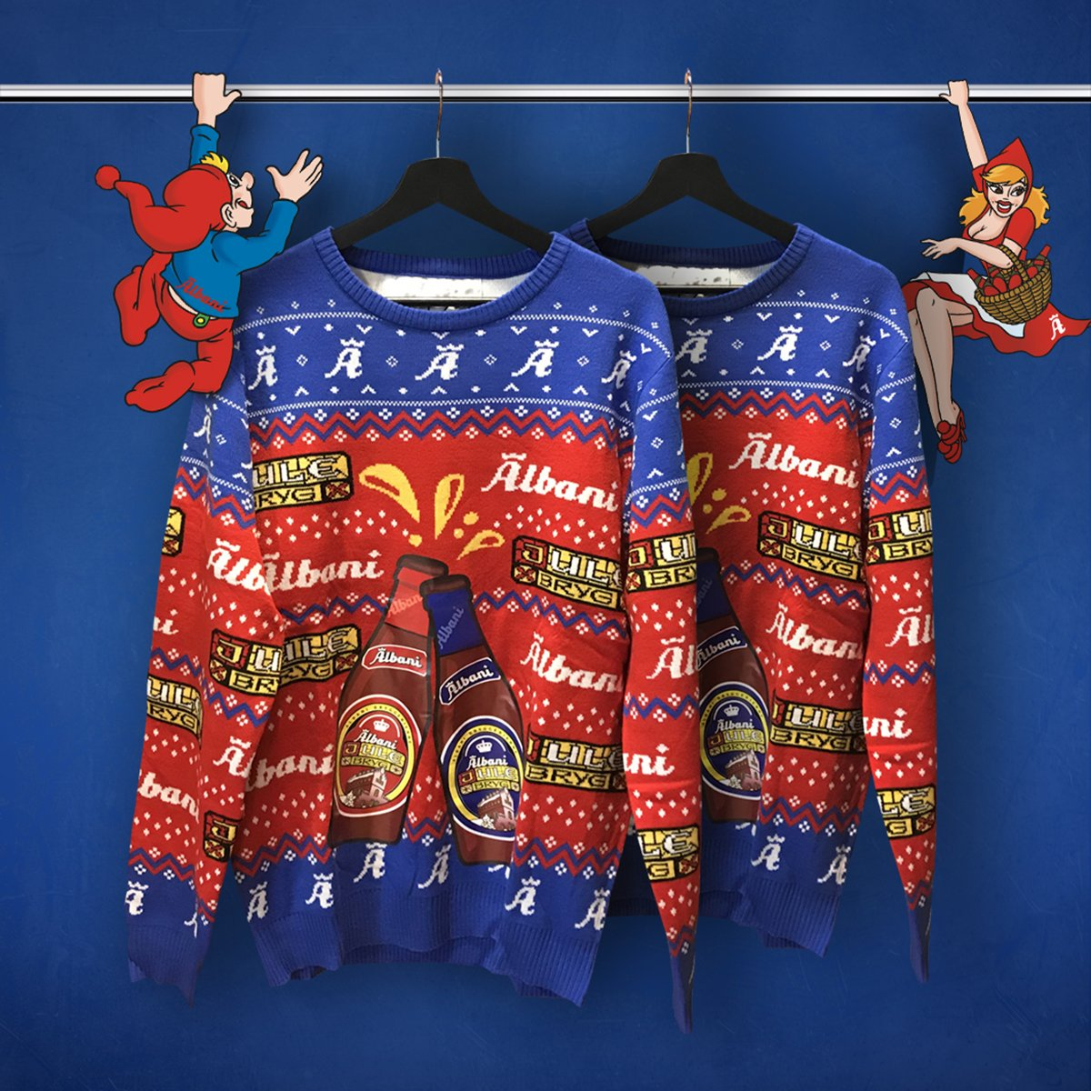 Albani Merchandise shop julesweater